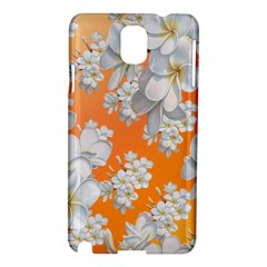 Flowers Background Backdrop Floral Samsung Galaxy Note 3 N9005 Hardshell Case