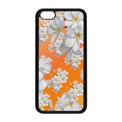 Flowers Background Backdrop Floral Apple Iphone 5c Seamless Case (black)