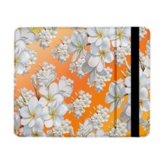 Flowers Background Backdrop Floral Samsung Galaxy Tab Pro 8 4  Flip Case