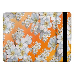 Flowers Background Backdrop Floral Samsung Galaxy Tab Pro 12 2  Flip Case