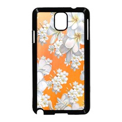 Flowers Background Backdrop Floral Samsung Galaxy Note 3 Neo Hardshell Case (black)