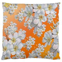 Flowers Background Backdrop Floral Standard Flano Cushion Case (Two Sides)