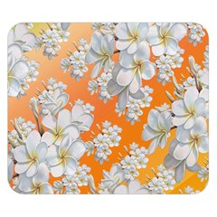 Flowers Background Backdrop Floral Double Sided Flano Blanket (small)