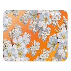 Flowers Background Backdrop Floral Double Sided Flano Blanket (large)