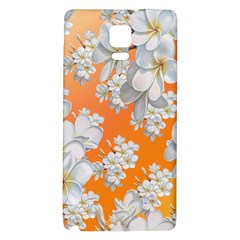 Flowers Background Backdrop Floral Galaxy Note 4 Back Case