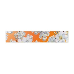 Flowers Background Backdrop Floral Flano Scarf (mini)