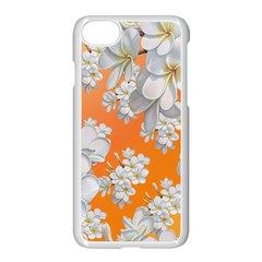 Flowers Background Backdrop Floral Apple Iphone 7 Seamless Case (white)