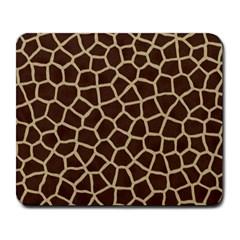 Giraffe Animal Print Skin Fur Large Mousepads