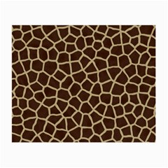 Giraffe Animal Print Skin Fur Small Glasses Cloth