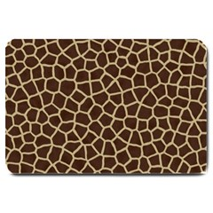 Giraffe Animal Print Skin Fur Large Doormat