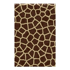 Giraffe Animal Print Skin Fur Shower Curtain 48  X 72  (small)