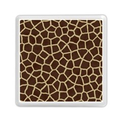 Giraffe Animal Print Skin Fur Memory Card Reader (square)