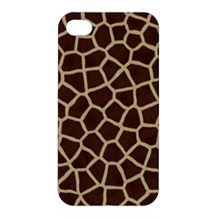 Giraffe Animal Print Skin Fur Apple Iphone 4/4s Hardshell Case