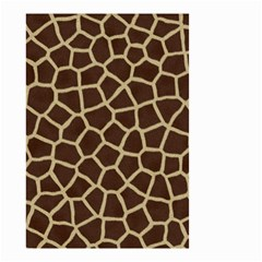 Giraffe Animal Print Skin Fur Small Garden Flag (two Sides)