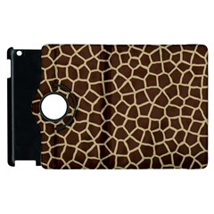 Giraffe Animal Print Skin Fur Apple Ipad 2 Flip 360 Case