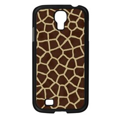 Giraffe Animal Print Skin Fur Samsung Galaxy S4 I9500/ I9505 Case (black)