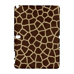 Giraffe Animal Print Skin Fur Galaxy Note 1
