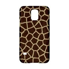 Giraffe Animal Print Skin Fur Samsung Galaxy S5 Hardshell Case
