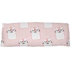 Pattern Cat Pink Cute Sweet Fur Body Pillow Case Dakimakura (two Sides)