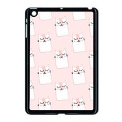 Pattern Cat Pink Cute Sweet Fur Apple Ipad Mini Case (black)