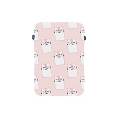 Pattern Cat Pink Cute Sweet Fur Apple Ipad Mini Protective Soft Cases