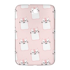 Pattern Cat Pink Cute Sweet Fur Samsung Galaxy Note 8 0 N5100 Hardshell Case
