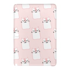 Pattern Cat Pink Cute Sweet Fur Samsung Galaxy Tab Pro 12 2 Hardshell Case