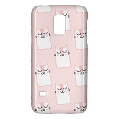 Pattern Cat Pink Cute Sweet Fur Galaxy S5 Mini