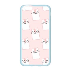 Pattern Cat Pink Cute Sweet Fur Apple Seamless iPhone 6/6S Case (Color)