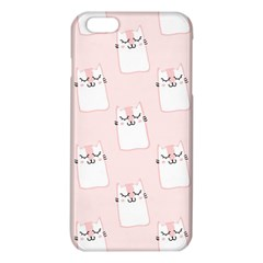 Pattern Cat Pink Cute Sweet Fur Iphone 6 Plus/6s Plus Tpu Case