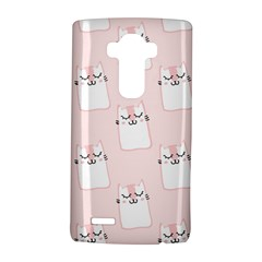 Pattern Cat Pink Cute Sweet Fur Lg G4 Hardshell Case