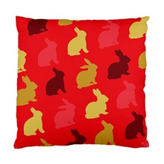 Hare Easter Pattern Animals Standard Cushion Case (two Sides)
