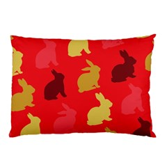 Hare Easter Pattern Animals Pillow Case (two Sides)