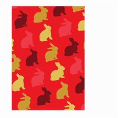 Hare Easter Pattern Animals Large Garden Flag (two Sides)