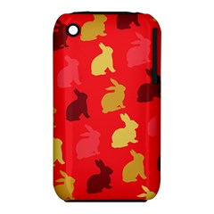 Hare Easter Pattern Animals Iphone 3s/3gs