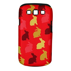 Hare Easter Pattern Animals Samsung Galaxy S Iii Classic Hardshell Case (pc+silicone)