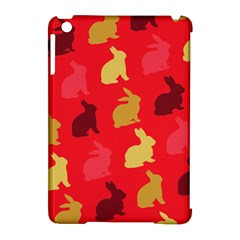 Hare Easter Pattern Animals Apple Ipad Mini Hardshell Case (compatible With Smart Cover)