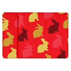 Hare Easter Pattern Animals Samsung Galaxy Tab 8 9  P7300 Flip Case