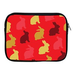 Hare Easter Pattern Animals Apple Ipad 2/3/4 Zipper Cases