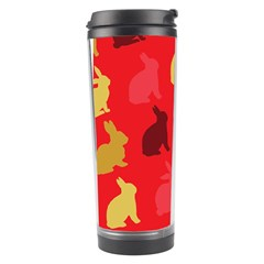 Hare Easter Pattern Animals Travel Tumbler