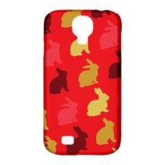 Hare Easter Pattern Animals Samsung Galaxy S4 Classic Hardshell Case (pc+silicone)