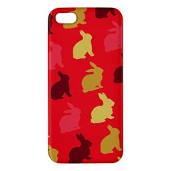 Hare Easter Pattern Animals Iphone 5s/ Se Premium Hardshell Case