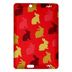 Hare Easter Pattern Animals Amazon Kindle Fire Hd (2013) Hardshell Case
