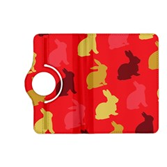 Hare Easter Pattern Animals Kindle Fire Hd (2013) Flip 360 Case