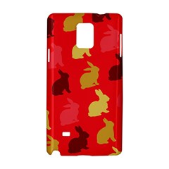 Hare Easter Pattern Animals Samsung Galaxy Note 4 Hardshell Case