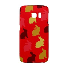 Hare Easter Pattern Animals Galaxy S6 Edge