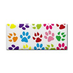 Paw Print Paw Prints Background Cosmetic Storage Cases
