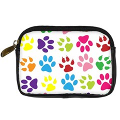 Paw Print Paw Prints Background Digital Camera Cases