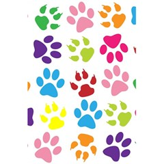Paw Print Paw Prints Background 5 5  X 8 5  Notebooks
