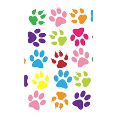 Paw Print Paw Prints Background Shower Curtain 48  X 72  (small)